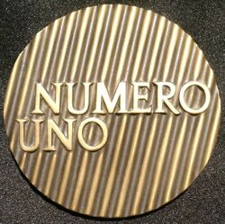 1977 Numero Uno Medal Medallic Art Company Coin Token Maco Number One 1 Spanish
