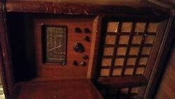 Antique 1940and039s Magnavox Stereo Radio Console