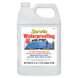 Star Brite 081900n Waterproofing Canvas Sealer W/ Ptef 1 Gallon Boat Covers