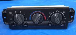 99-02 Chevy Tahoe Yukon A/c Temperature Climate Control Unit