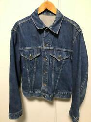 Levi's 557 Big E 60's Vintage 3rd Jean Jacket Size 42 44 Rare From Japan