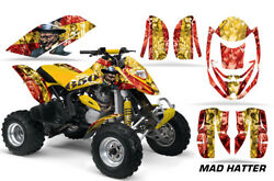 Atv Graphics Kit Decal Quad Wrap For Can-am Bombardier Ds650 Ds 650 Hatter Y R