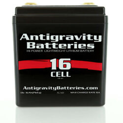 Antigravity Batteries 16 Cell Lithium Ion Small Case Custom Motorcycle Battery