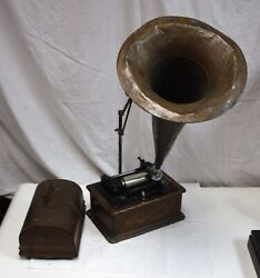 Edison Standard Model A Cylinder Phonograph, S/n S88808, New Style, 1901 1902
