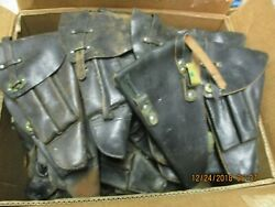 austrlian L35m40  holsters 105 used holsters  condtion will vary from fair to g