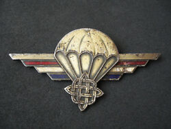 Croatia Army Special Forces, Wartime Original Paratrooper Wings, Numbered, Rare