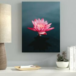 Ebern Designs 'Meditation and Calming (8)' Photographic Print on Canvas