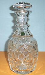 Waterford Wallace Magnum Decanter Designer #34100 Crystal Made Ireland Rare New
