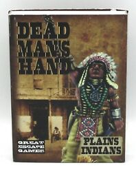 Dead Manand039s Hand Cdmh009 Plains Indians Boxed Gang Old West Native Warriors Nib
