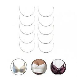 12 Pairs Women Fun Stainless Steel Bra Underwire Bra DIY Replacement Cup D E