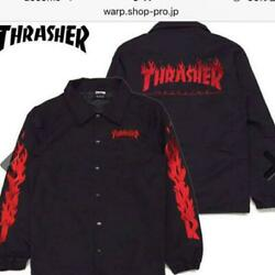 Thrasher Coach Jacket Men Coat Rock Band Very Rare Collectible Fans F/s Japan