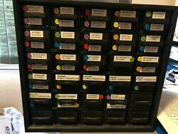 Cabinet 2 Large Lot Integrated Circuits, Power Transistors,