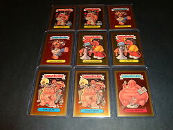 Garbage Pail Kids Ans2 All New Series 2 Gold Foil Cards You Pick Gpk F13a-f25b
