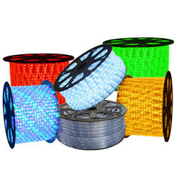 50/100/150/300ft Led Rope Light In/outdoor Cuttable Flexible Lights Strip