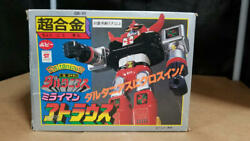 Atlaus Robot Toy Figure Japan Rare Collectible Vintage Miraiman Super Alloy F/s