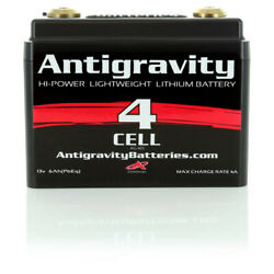 Antigravity Batteries 4 Cell Lithium Ion Small Case Custom Motorcycle Battery