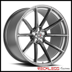 Savini 20 Svf-04 Graphite Concave Wheel Rims Fits Ford Mustang Gt Gt500