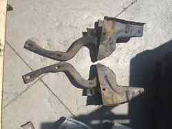 1958 Ford Ranchero Hood Hinges 1 Pair Left / Right Sides