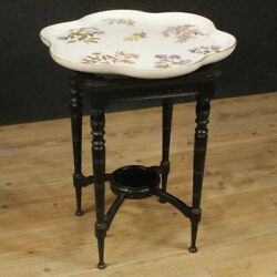 Coffee Table Furniture Table In Wood Level Ceramics Antique Style English