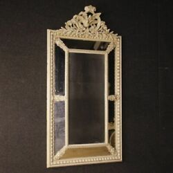 Mirror French Furniture Painted Wood Frame Antique Style 900