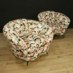 Armchairs pair of chairs living room furniture seats design italian fabric