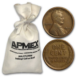1909-1919 Lincoln Cent 5,000-ct Bags All From The 1910s - Sku47319
