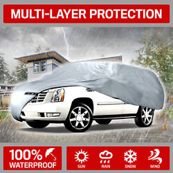 Suv Car Cover For Chevrolet Motor Trend Indoor Outdoor Breathable Uv Protection