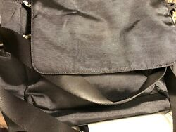 Pottery Barn Ultimate Diaper Bag Black New W/ Tags Free Shipping.