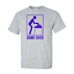 Game Over New Dad Father's Day Graphic Funny Generic Novelty Unisex T-Shirt