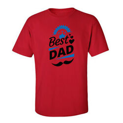 Happy Father's Day Best Dad Tees Graphic Funny Generic Novelty Unisex T-Shirt