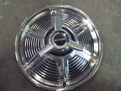 14 Wheel Cover/deluxe Spinner Hub Cap 1965 Mustang Coupe Convertible Fastback-k
