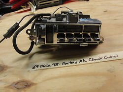 OEM 69 Oldsmobile Olds 98 FACTORY A/C HEATER CLIMATE TEMPERATURE CONTROL #07731