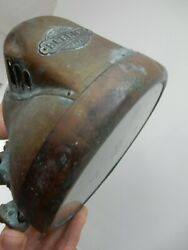 Vintage Brass Headlamp By Bleriot, Numbered To Restore  Lamp Automobilia