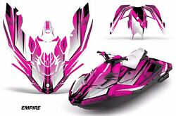 Jet Ski Graphics Kit Decal Wrap For Sea-doo Bombardier Spark 3 Up 15-18 Empire P