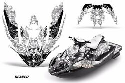 Jet Ski Graphics Kit Decal Wrap For Sea-doo Bombardier Spark 3 Up 15-18 Reaper W