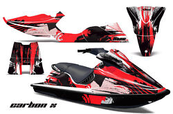 Jet Ski Graphics Kit Pwc Decal Sticker Wrap For Sea-doo Xp 1994-1996 Carbonx Red