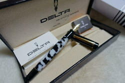 Japan Limited Model Fountain Pen Rare Collectible 50 Limited Delta Italy Unused