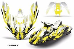 Jet Ski Graphics Kit Decal Wrap For Sea-doo Bombardier Spark 3 Up 15-18 Crbnx Y