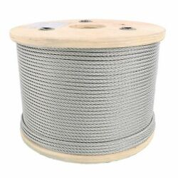 1/16 Stainless Steel Aircraft Cable Wire Rope 7x7 Type 304
