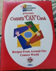 Conoco Can Cook Recipes From Around The World 2001