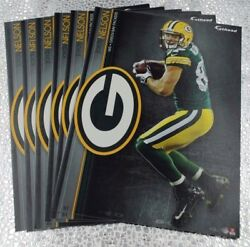 6 Fathead Jordy Nelson Green Bay Packers Nfl Decal Team Logo 7 Tradables