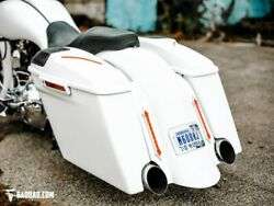 Bad Dad 2-1 Exhaust Summit Kit W/ Classic Covers 957 Black Taillights 14-up Fl