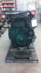 07 Volvo Ved12d465 465hp Engine Assembly Trw D-drv Pump Hole In Oil Pan 4602693