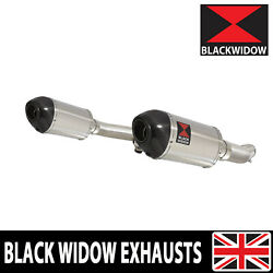 Gsx1400 K2 K3 K4 02 03 04 4-2 Exhaust Silencers End Cans Stainless+carbon 200st