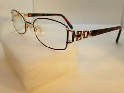 Tura Eyeglass Frames 527 Pur Purple Gold 51 17 135 Full Rim $22.45