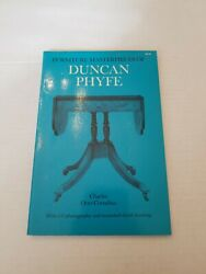Furniture Masterpieces Of Duncan Phyfe By Charles O. Cornelius