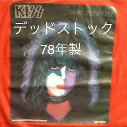 Kiss Metal Band T Shiet Red Men Fashion Collectible Vintage Fans 1978 70's Rare