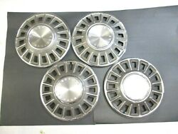 1968 Mustang 14 Wheel Cover Hubcaps - Set Of 4