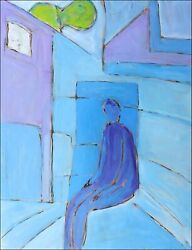 Room Modern Art Contemporary Oil Painting Jean Mirre