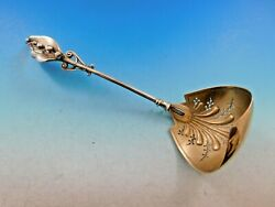 Lily Of The Valley Circa 1865 By Gorham Sterling Silver Sugar Sifter Ladle Gw
